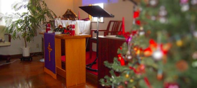 クリスマスの飾りつけ(2012年バージョン)