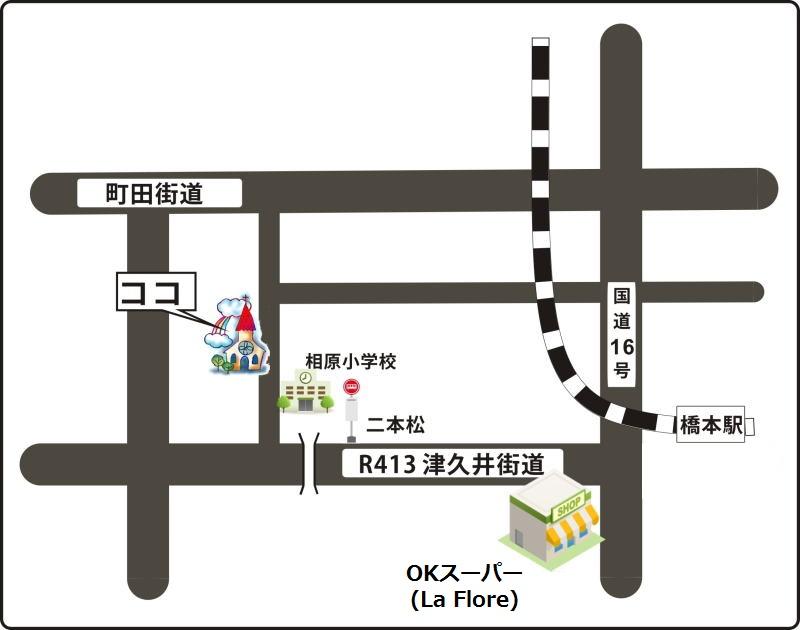 教会案内地図