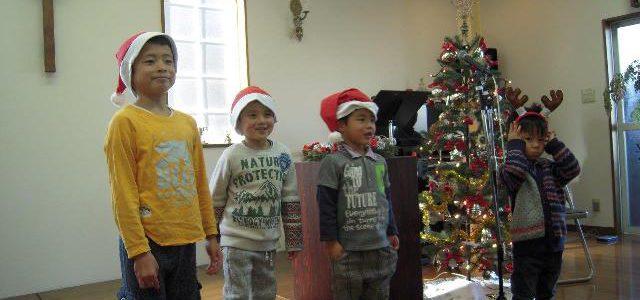 クリスマス祝会の様子